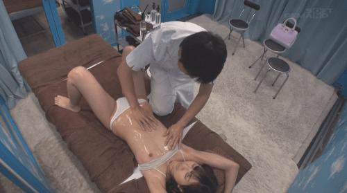 マジックミラー号 貧乳 乳首責め15
