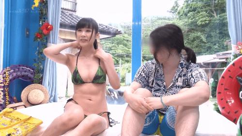 マジックミラー号 海水浴場 泡マッサージ動画14